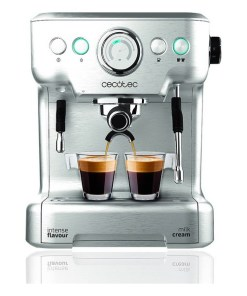 Máquina de Café Expresso Manual Cecotec Power Espresso 20 Barista Pro 2,7 L Prateado