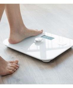 Balança digital para casa de banho Cecotec EcoPower 10100 Full Healthy LCD 180 kg Branco