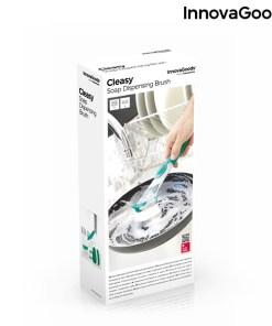 Escova-Esfregão com Punho e Dispensador de Detergente Cleasy InnovaGoods