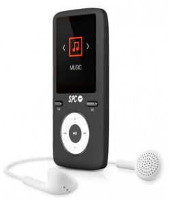 Reprodutor MP4 SPC Pure Sound Colour 2 8 GB Preto