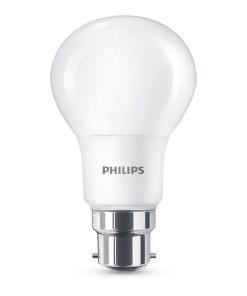 Lâmpada LED esférica Philips 8W A+ 4000K 806 lm Luz quente