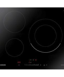 Placa de Indução Samsung NZ63R3727BK 60 cm (3 Zonas de cozedura)