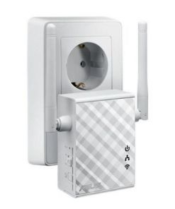 Ponto de Acesso Repetidor Asus 90IG01X0-BO210 N300 10 / 100 Mbps 2 x 2 dBi