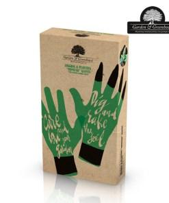 Luvas de Jardinagem com 4 Garras para Cavar Garden & Greenhouse