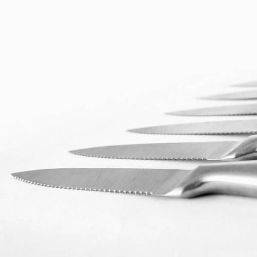 Facas Profissionais para Carne Cecotec (6 peças)