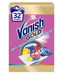 Toalhitas Absorventes de Cor Vanish Gold (12 uds)