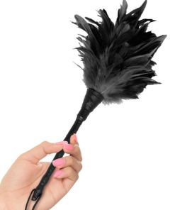 FETISH FANTASY SERIES FRISKY FEATHER DUSTER BLACK