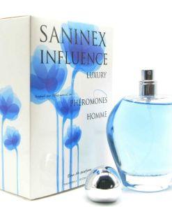 PERFUME PARA HOMENS COM FEROMONAS SANINEX INFLUENCE LUXURY.
