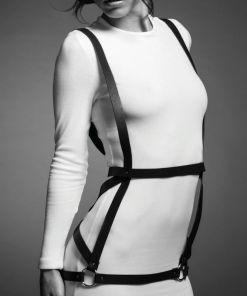 BIJOUX INDISCRETS ARROW DRESS ARROW HARNESS - PRETO