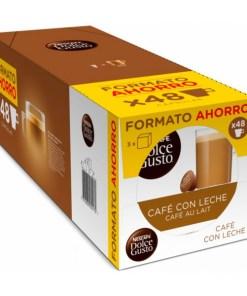 Cápsulas de café Cafe Au Lait Nescafé Dolce Gusto Dolce Gusto (48 uds)