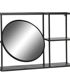 Estantes Dekodonia Metal Espelho (70 x 13 x 50 cm)