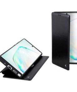 Capa tipo Livro para o Telemóvel Samsung Galaxy S20 Ultra KSIX Standing Preto