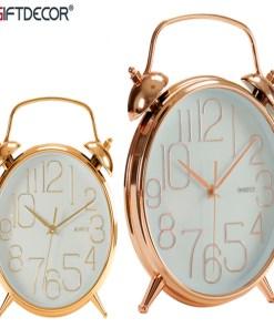 Relógio-Despertador Plástico Ø 24 cm