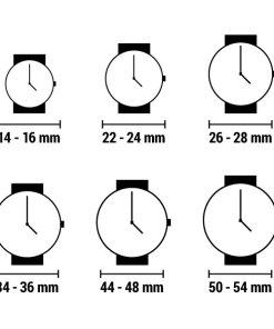 Relógio feminino Qiin 0312CAUS (33 mm)