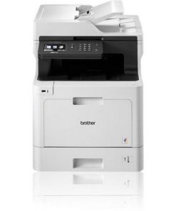 Impressora Fax Laser Brother FEMMLF0123 MFCL8690CDWT1BOM 31 ppm USB WIFI