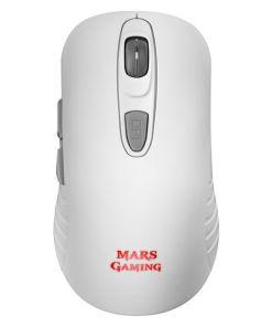 Rato Gaming Mars Gaming MMW2W Branco RGB 3200 dpi