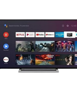 """Smart TV Toshiba 55UA3A63DG 55"""" 4K Ultra HD DLED WiFi Preto"""