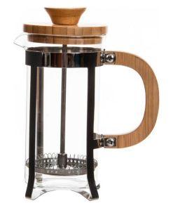 Cafeteira de Êmbolo Dekodonia Bambu Aço inoxidável (350 ml)