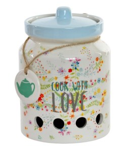 Bote Dekodonia Cook With Love (12 x 12 x 17 cm)