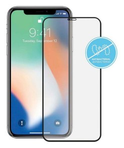 Protetor de Vidro Temperado iPhone 11 KSIX Anti-Bacterial 2.5D