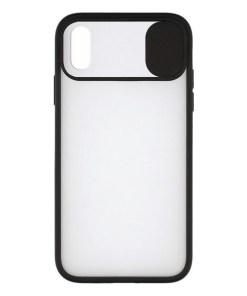 Capa para Telemóvel iPhone X/XS KSIX Duo Soft Cam Protect Preto