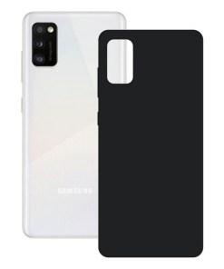 Capa para Telemóvel Samsung Galaxy A41 KSIX Silk Preto