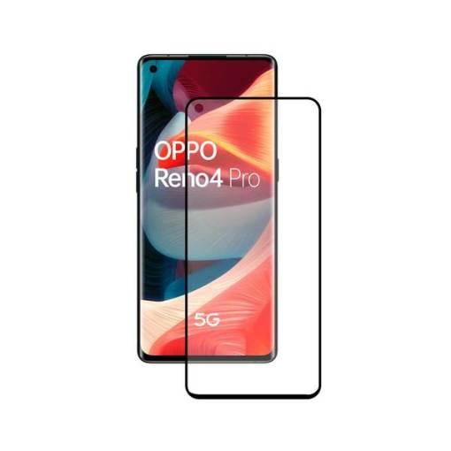 Protetor de vidro temperado para o telemóvel Oppo Reno 4 Pro 5G KSIX Full Glue 2.5D