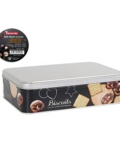 Lata de Metal Privilege Biscuits Cozinha (22 x 16 x 6 cm)
