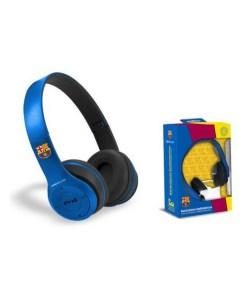 Auriculares de Diadema F.C. Barcelona Bluetooth Azul