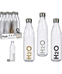 Garrafa H2O Vidro 1 L