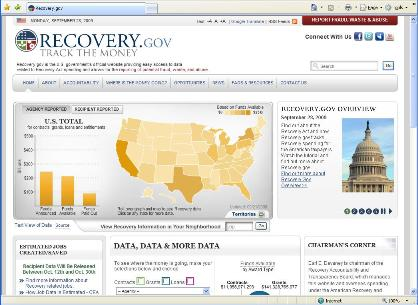 Recovery.gov SharePoint Site