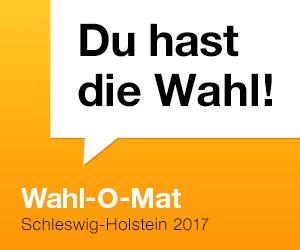 Wahl-O-Mat zur Landtagswahl 2017 in Schleswig-Holstein