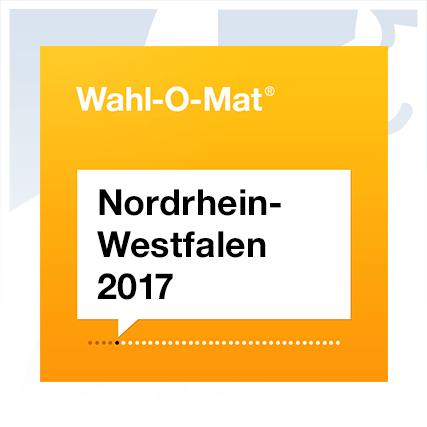 Wahl-O-Mat zur Landtagswahl 2017 in NRW