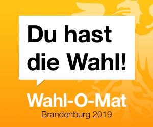Wahl--O-Mat zur Brandenburger Landtagswahl 2019