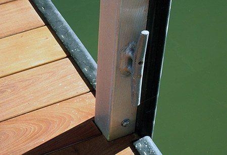 Wahoo Docks Moorings Cleat