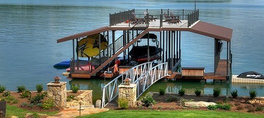Aluminum Boat Dock Layouts Dock Footprints