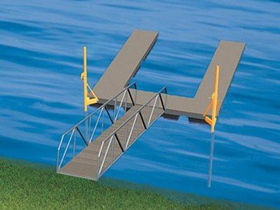 Pole Sleeve Dock Anchoring Method Wahoo Docks