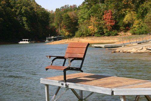 Captains Chair For Wahoo Aluminum Docks