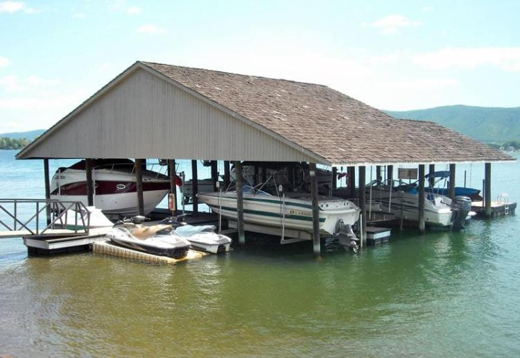 wahoo commercial community aluminum docks with jet ski ports dock ladder and aluminum dock gangway