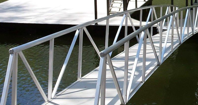 wahoo docks dock gangway gallery