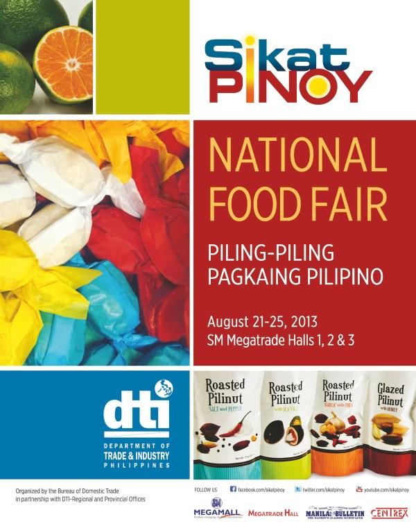 Photo-Sikat Pinoy Food Fair Poster