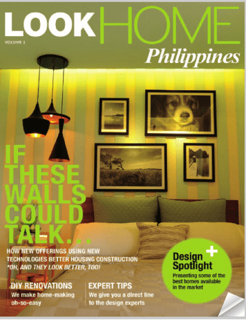 LOOK HOME Philippines Magazine launch and review WHPINAS