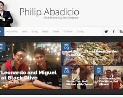 Philip Abadicio: The Lifestyle Guy @ Philipabadicio.com