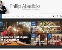Philip Abadicio: The Lifestyle Guy @ Philipabadicio.com