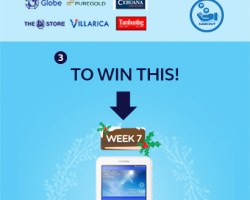 GCash #12WeeksofChristmas Raffle Promo – Week #7