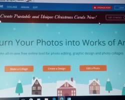 Fotojet, an online photo editing tool