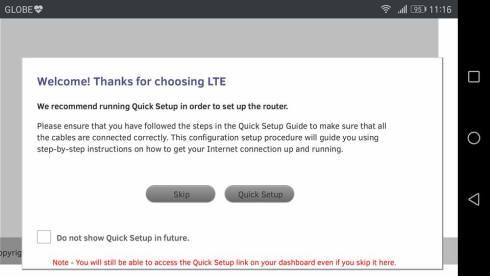 Globe Lte Pocket Wifi Network Settings