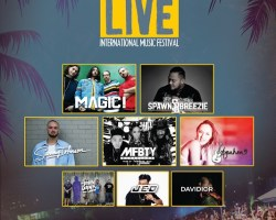 June 3 is the day of the Annual Lotte Duty Free Guam Live International Music Festival