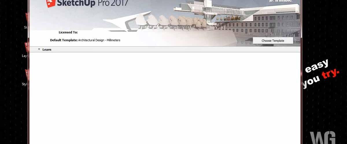 SketchUp Pro 2017 Dan SketchUp Make 2017