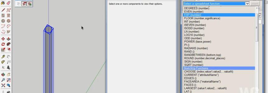 Dynamic Components untuk Modeling Pipa PVC